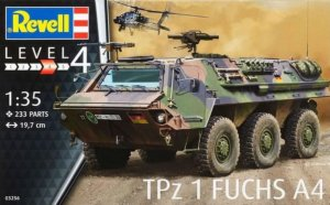 TPZ Fuchs A4 Armoured Car 1/35 Scale Plastic Model Kit Revell 03256