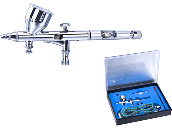 Vigiart HS-80K Dual Action Gravity Feed Airbrush w/ Pressure Control Valve Kit