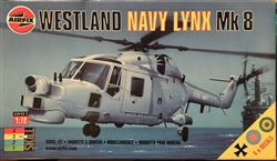 Westland Lynx Mk 8 Helicopter 1/72 Scale Plastic Model Kit Airfix 03063