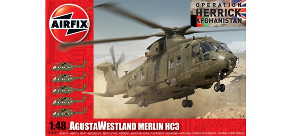 Westland Merlin HC3  1/48 Scale Plastic Model Kit Airfix A14101