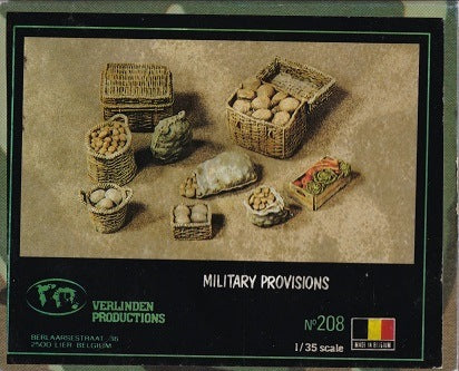Military Provisions Accessory Resin Set 1/35