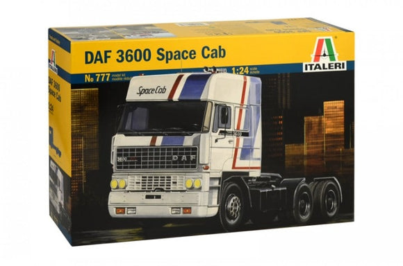 DAF 3600 Space Cab Tractor 1/24 Scale Truck Model Kit 777