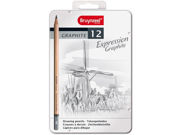 Graphite Pencil Set of Twelve