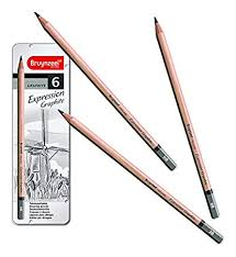 Graphite Pencil Set of Six