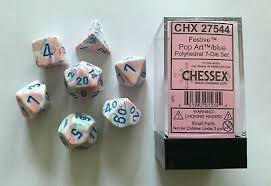 Chessex 7 pc. Dice Set 27544