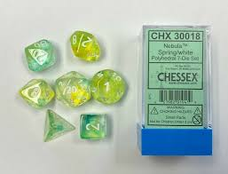 Chessex 7 pc. Dice Set 30018