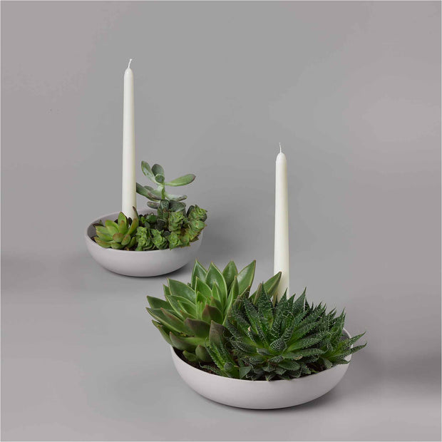 Orbital Candle Holder (White, Grey or Charcoal)