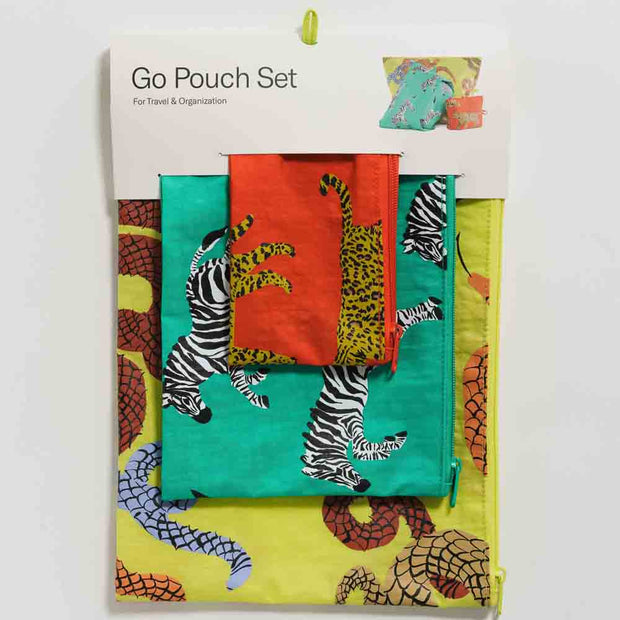 Fancy Animal Go Pouch Set