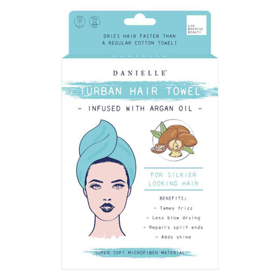 Argan Oil Infused Hair Turban