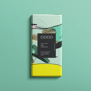 Gin & Tonic Dark Chocolate Bar 80g