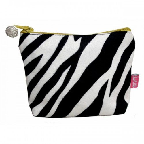 Mini Purse Zebra Print