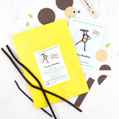 Cheeky Monkey Children's Craft Kit