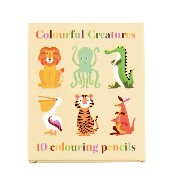 Colourful Creatures Colouring Pencils