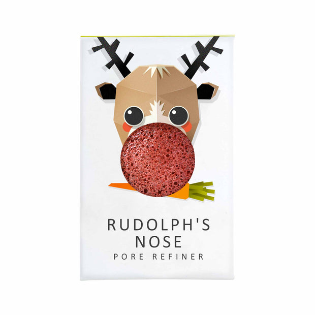Konjac Mini Pore Refiner Rudolph: Red French Clay