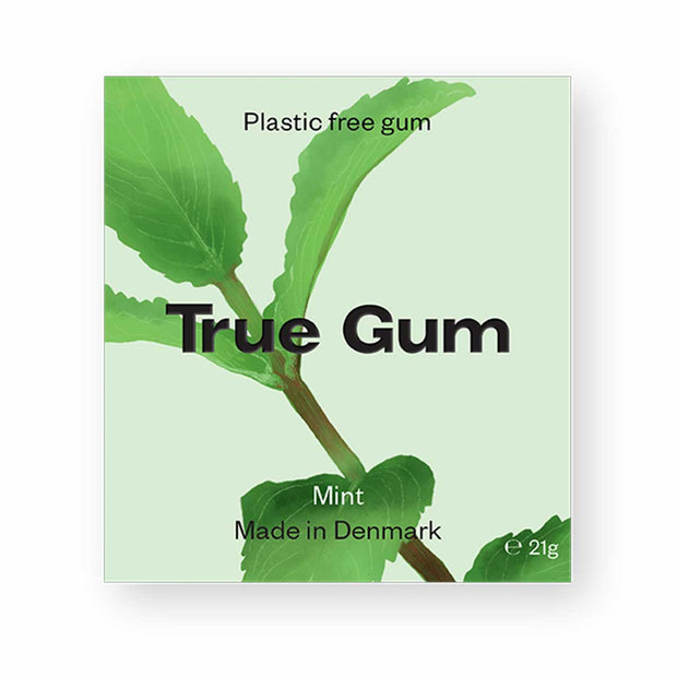 Mint Chewing Gum (Plastic Free)
