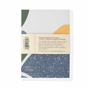Recycled 'NOTES' Notebook A5 - Olive