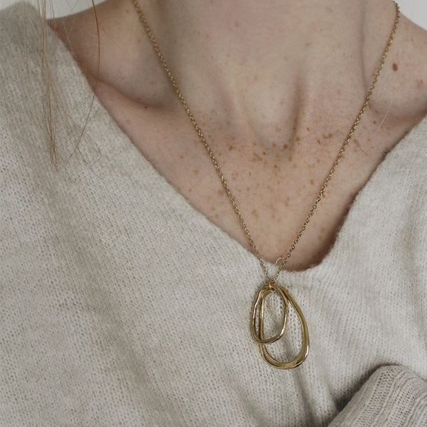 Gold Willa Necklace