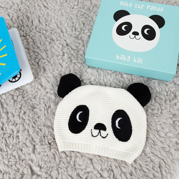 Miko the Panda Baby Hat