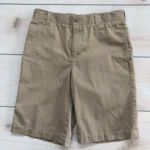 Lands End Khaki Shorts Size 14