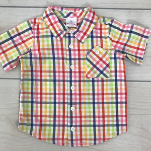 Hanna Andersson SS Button Down Size 2