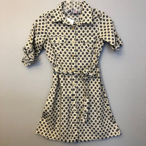 Miss B Floral Belted Shirt Dress Size 8