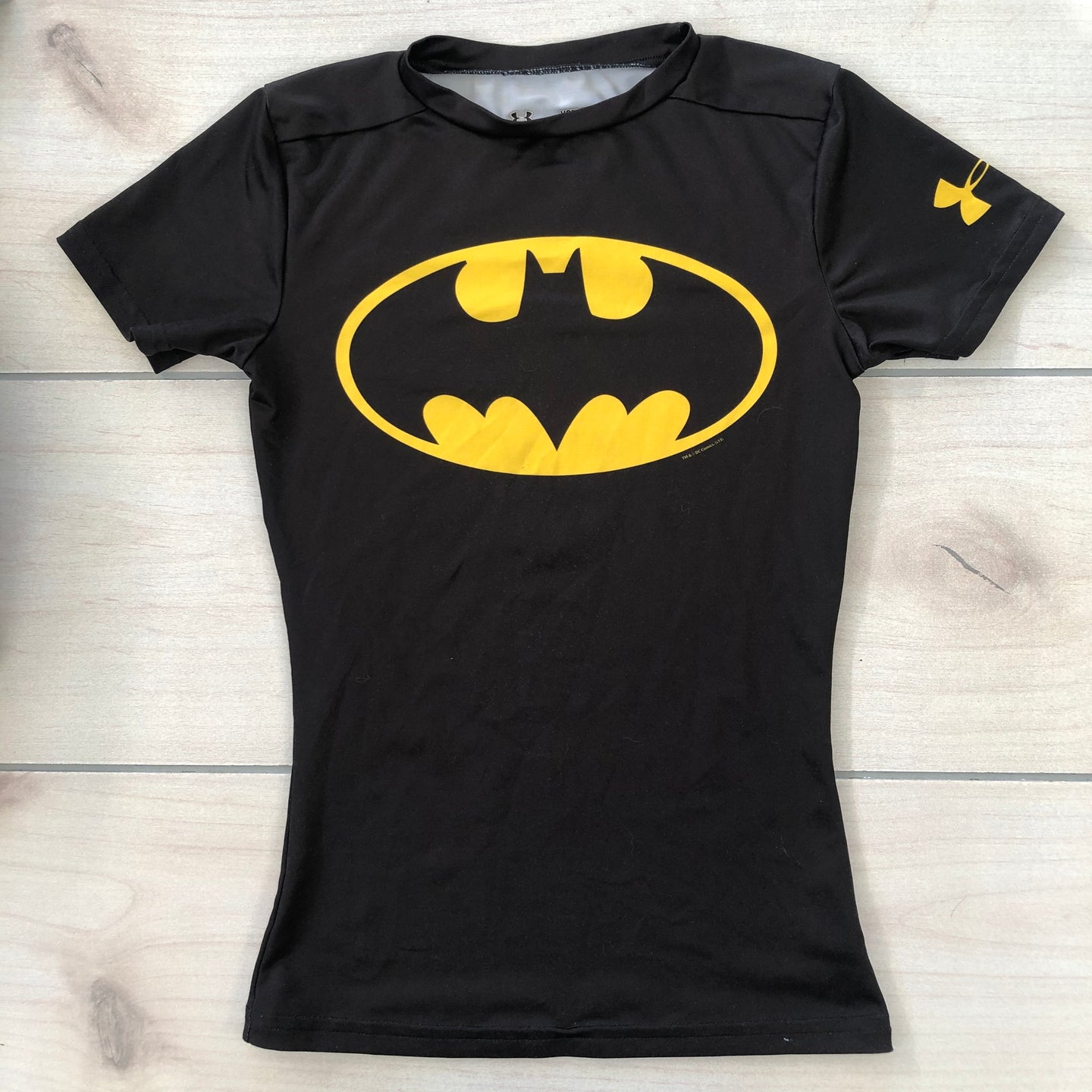 Under Armour Batman Performance T-Shirt YSM