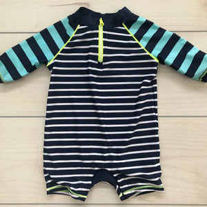 Baby Gap One Piece Swim Rashguard Size 12-18 months