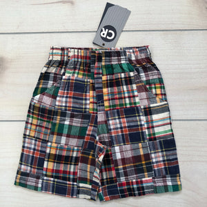 CR Sports Plaid Shorts Size 24 months NWT