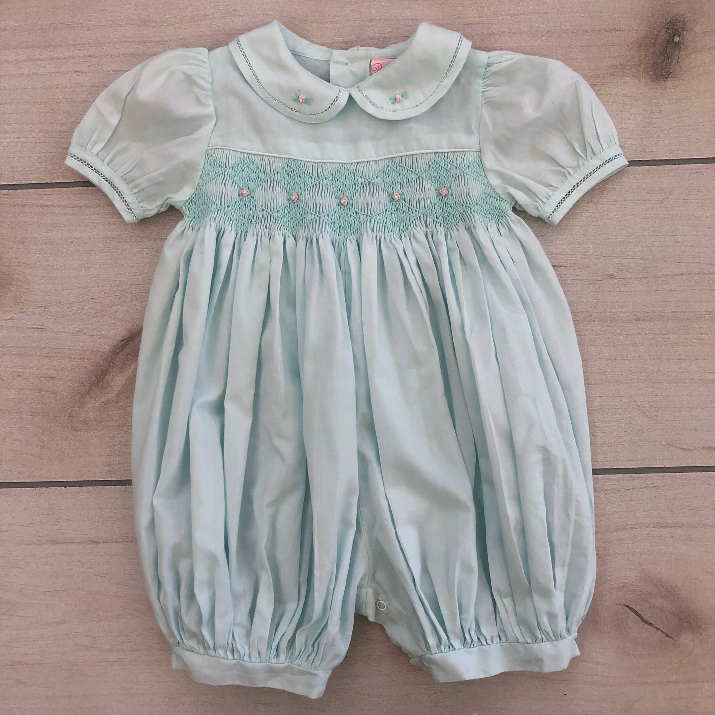 Petit Ami Smocked Romper Size 3 months