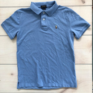 Ralph Lauren SS Blue Polo Size 10-12