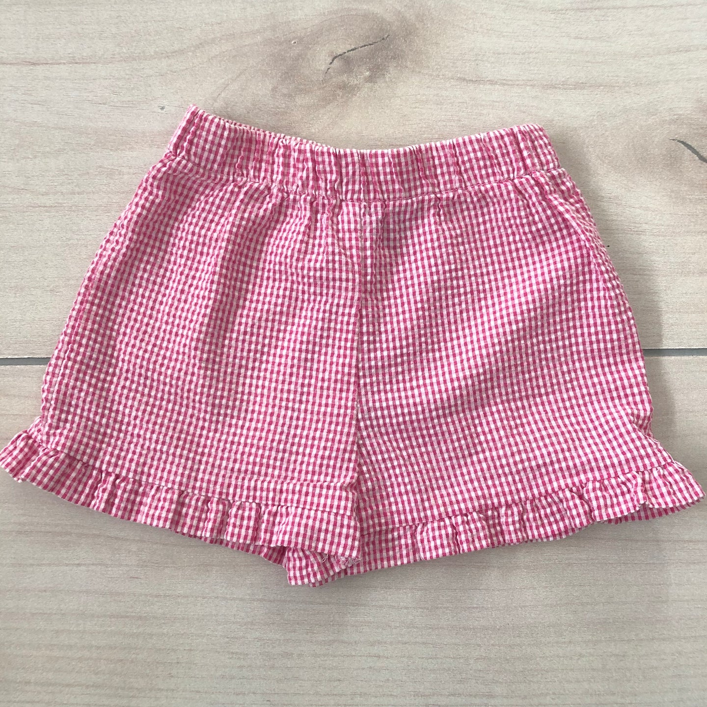 Funtasia Too Pink Gingham Shorts Size 2