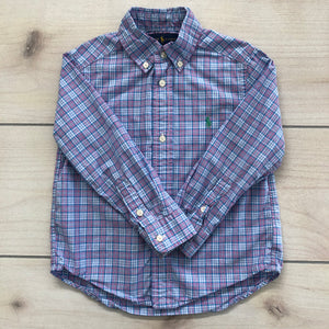 Ralph Lauren Button Down Size 3