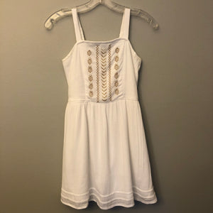Abercrombie Kids White Dress Size 11-12 NWT