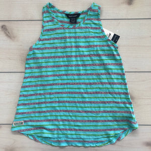 Ralph Lauren Striped Top 8-10 NWT