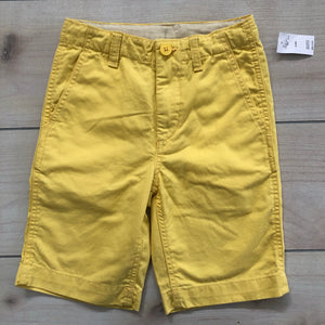 Gap Kids Yellow Shorts Size 8 Slim NWT
