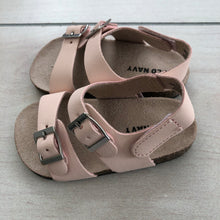 Load image into Gallery viewer, Old Navy Pale Pink Sandals 12-18 Size Months