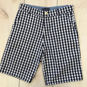 Tooby Doo Blue Check Shorts Size 10
