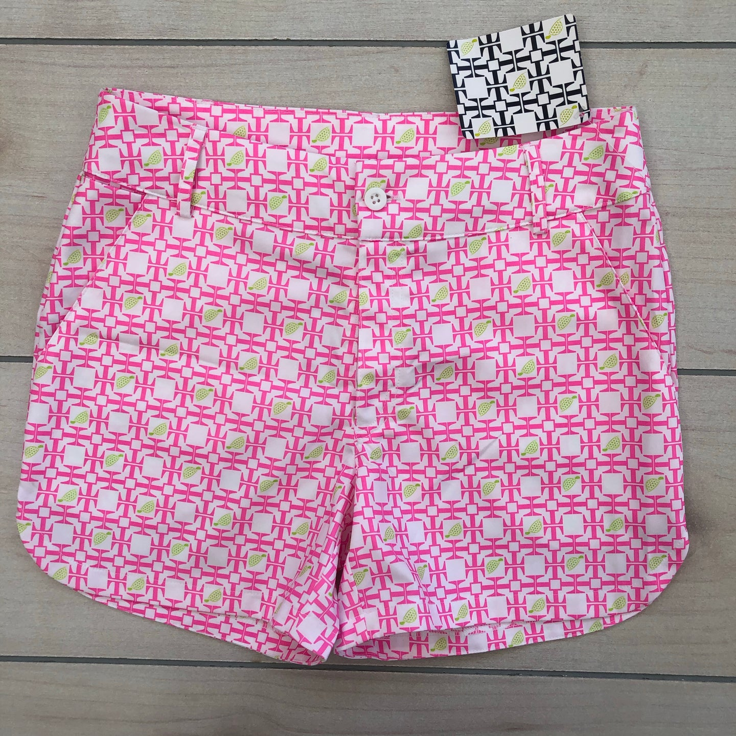 Turtles & Tees Golf Shorts Size 10-12 NWT