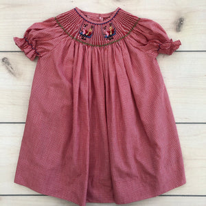 Wish Upon A Star Smocked 12 month Dress