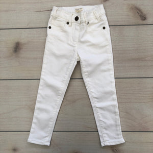 Crewcuts White Jeans Size 4 NWT