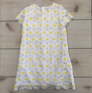 Mayoral Daisy Eyelet Dress Size 6