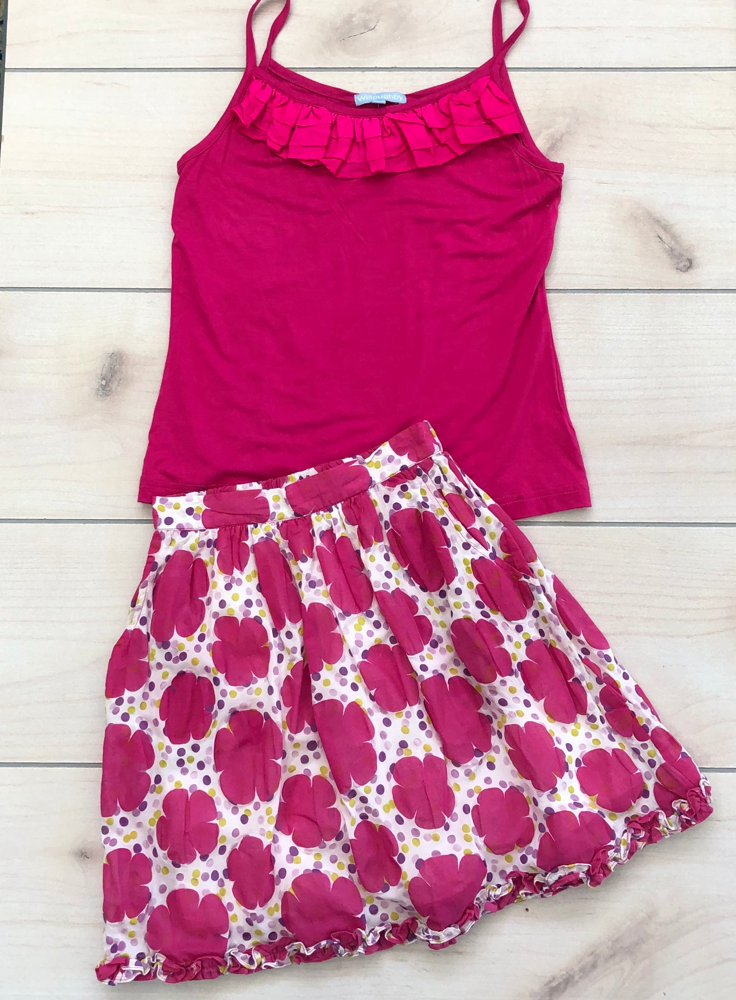 Willoughby Skirt And Top Size 7