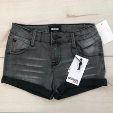 Load image into Gallery viewer, Hudson Roll Cuff Gray Denim Shorts Size 10 NWT