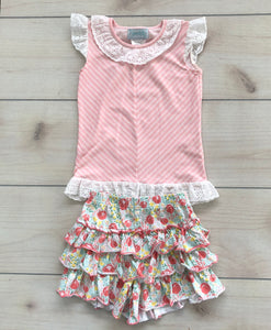 Serendipity Ruffle Skort and Top Set Size 4-5