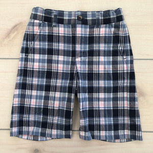 Janie and Jack Plaid Shorts Size 4