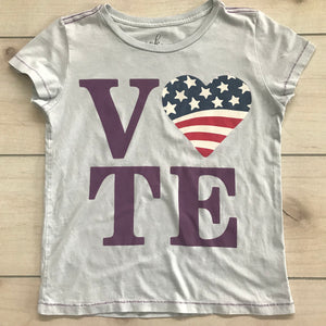 Peek VOTE Graphic T-Shirt XL Size 10