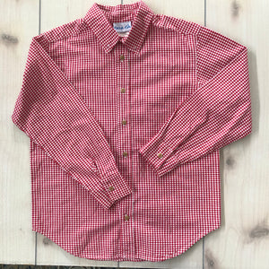 Kelly's Kids Button Down Shirt Size 10-12