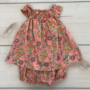 Tea Collection Dress/Romper Size 0-3 months