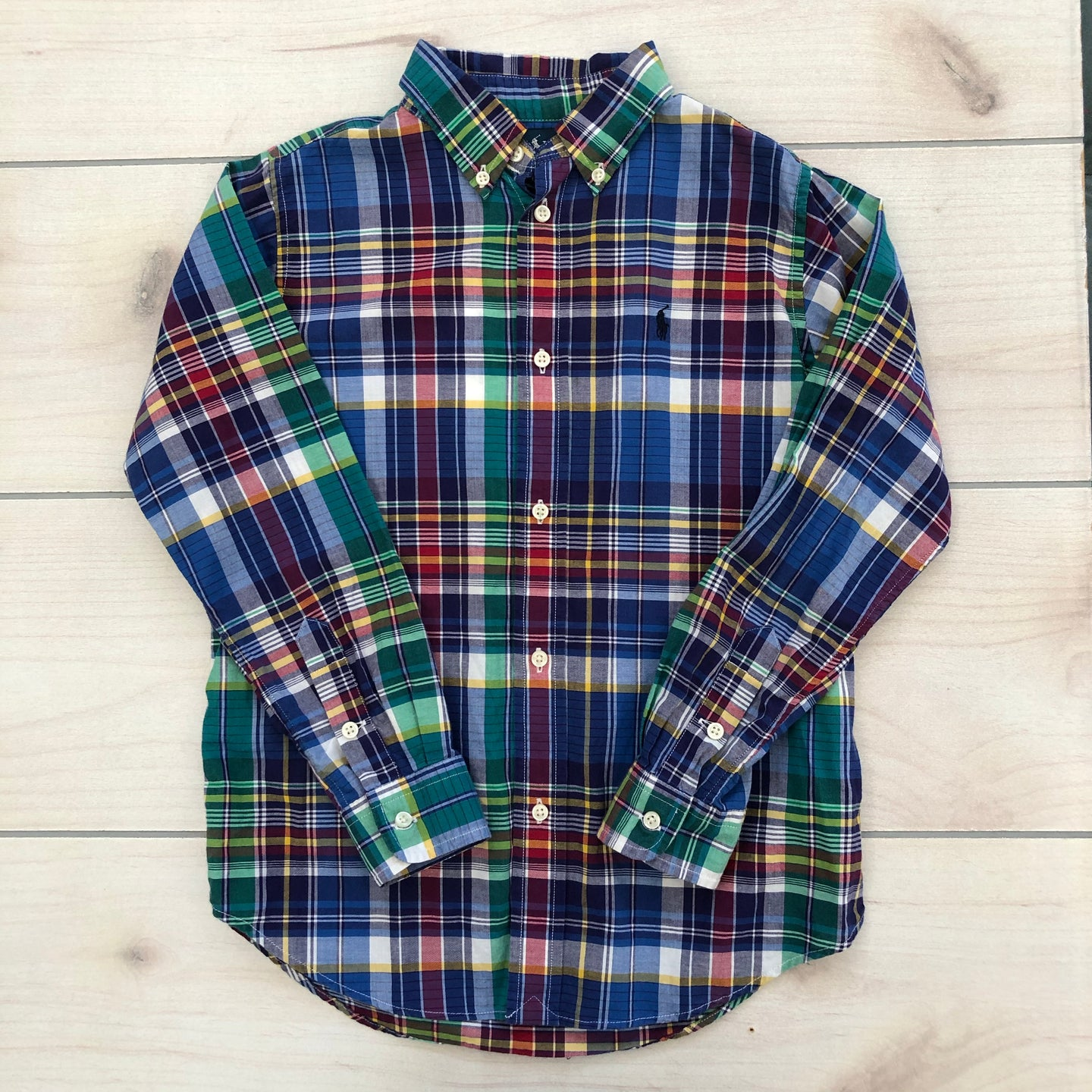 Ralph Lauren Button Down Size 7