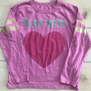 Peek Pink Long Sleeve 2XL Size 12 T-Shirt